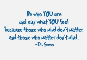 Dr. Seuss on speaking your mind