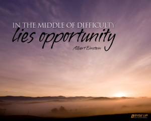 Einstein on Opportunity