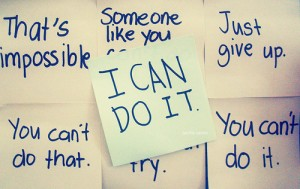 I can do it…