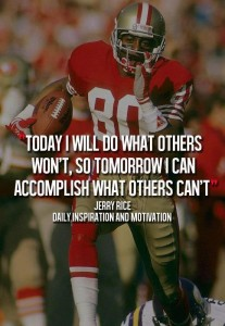 Do what others won't